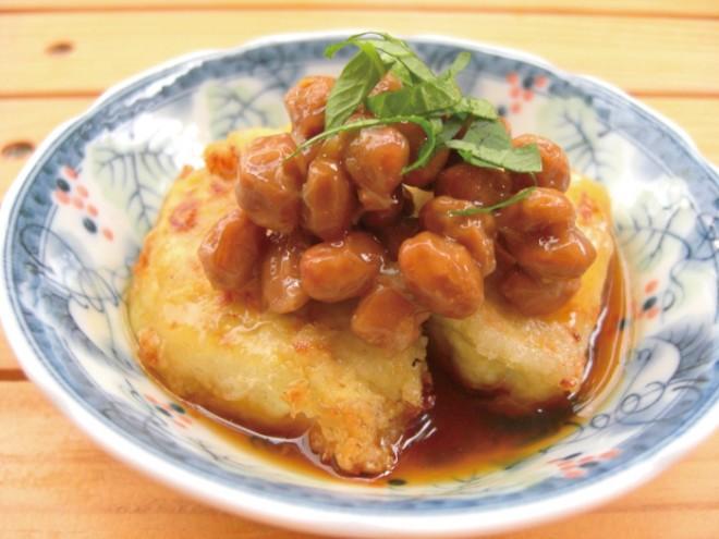 【納豆レシピ】揚げ出し豆腐風納豆
