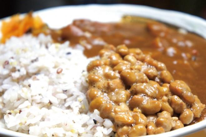 【納豆レシピ】納豆雑穀カレー